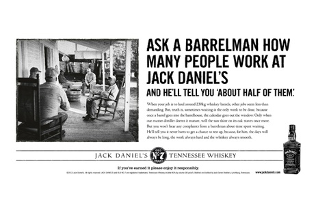hype  jack daniels advert